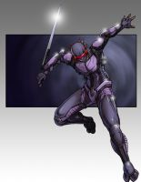 The Techno Ninja by general-sci
