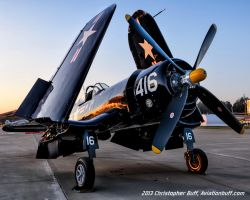 Twilight Corsair by aviationbuff