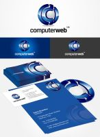 ComputerWeb logo by eLdIn94