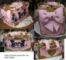 Purse cake... by boltnrain