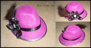 Miniature Trilby Hat by La-Loca