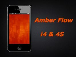 Amber Flow i4 Wallpaper by biggzyn80