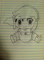 My Chibi Link Drawing by AxelLover874
