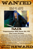 Wanted: Saix by gttorres