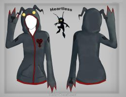 Heartless Hoodie Design by Vala-Creations