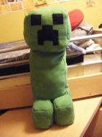 Creepy the plushie creeper by sexushi-koneko