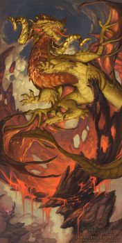 2016 Zodiac Dragons Aries by The-SixthLeafClover