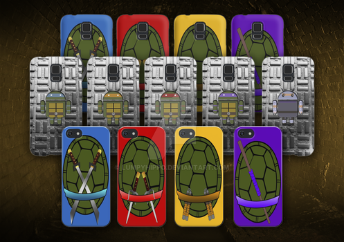 Tmnt Phone Cases by lumpyhippo