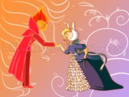 Prince and the Princess by lildarkangel99