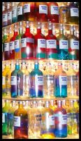 some vodka bottles.. :D by Corycat