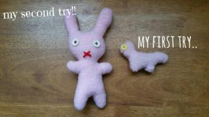 my tries in plush making.. by MMandMB
