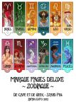 Zodiac Bookmarks by coda-leia