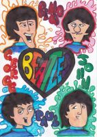 A.T. with Beatlesfan1994: Beatles Cartoon by nokia-m97
