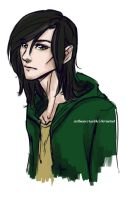 AU College - Loki by riotfaerie