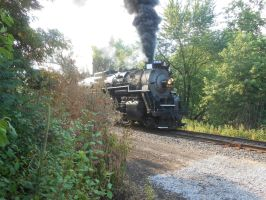 Steaming Into View by Engine97