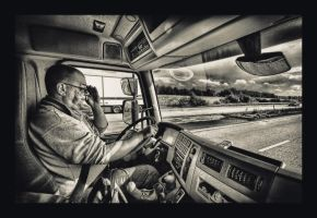 Truckin with Chris by carlzon