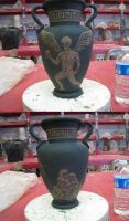 Greek Vase: Unfired by EnigmaArt