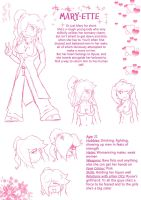 Mary Reference Sheet by J-RuIVI