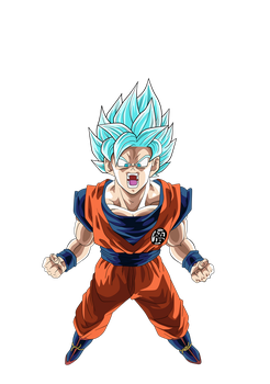Goku SSGSSJ by Supergoku37