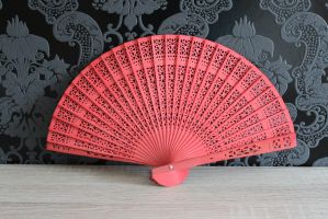 Red Fan by sacral-stock