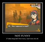 Yukiko Demotivational Poster by DarkHeroManic2121x