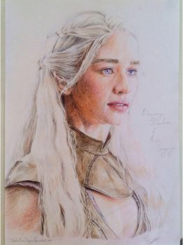 Daenerys by Books-Music-Dragons
