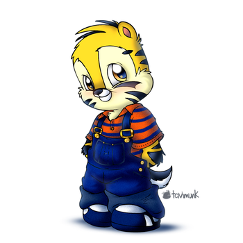 My Shirt n Overalls by Tavi-Munk