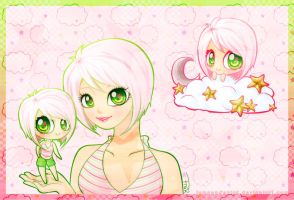 Pink and Green by lemonadepink