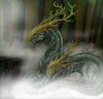 the nature spirit in prosses 2 by SunnyFire
