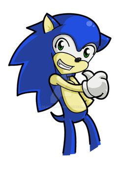 FanExpo09 - Sonic by desfunk