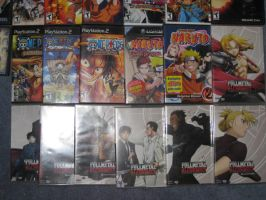 My Anime Games and Movies 2:3 by FFsGunslingerVincent