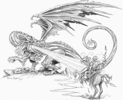 Entropic Dragon by staino