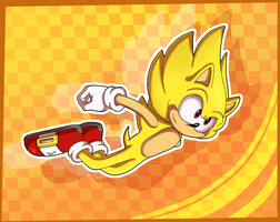 Super Sonic Time by Oggynka