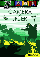 CFTP Presents: Gamera vs. Jiger by Weirdonian