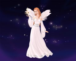 Jenna Angel gift for the outside characters by NightAngelGirl