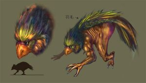 creature concept 3 by aco2099