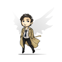 it's castiel o'clock by Avender