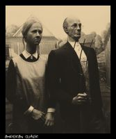 + .american gothic. + by KatTheGrrreat-photo