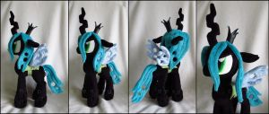Plushie: Queen Chrysalis - My Little Pony: FiM by Serenity-Sama