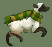 I'm a Sheep by jaclynonacloud