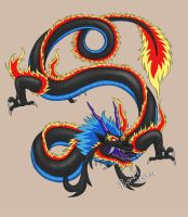 Dragon Tattoo by Naixoa