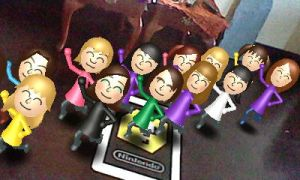 Mii Girls SIXTY FOUR!!1! by Blazikenpwnsyou