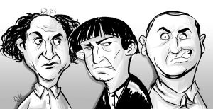 three stooges by enigma2mil1