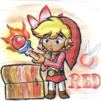 FourSwords:Red by BlueLink