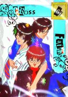 Cross of Faith Cover_Rin, Rikuo and Yukio by charista