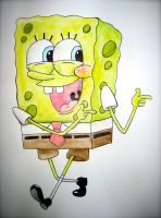 Spongebob by TheOceanOwl