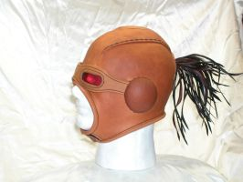 Leather hood by GriffinLeather