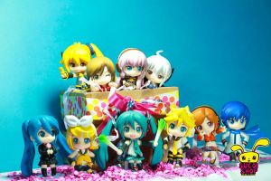 Nendoroid Petite - Vocaloid Family by pikarina