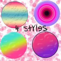 Colorful Styles by SmilerCyrus28Forever
