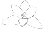 Flower LineArt by Rainny-Stock